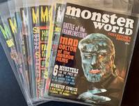 Monster World (The First 10 Issues) by  Editor-in-Chief Forrest J. Ackerman - Paperback - First Edition - 1966 - from Appledore Books, ABAA (SKU: 17889)