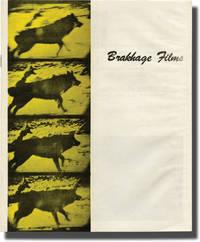 image of Brakhage Films (Original sales catalog for 1971)