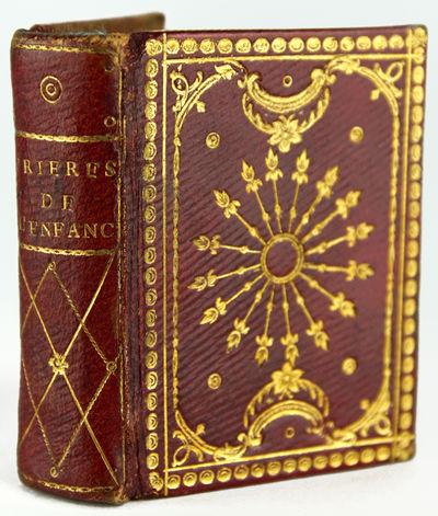 (Miniature Book). Prières de L'Enfance