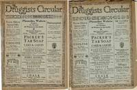 THE DRUGGISTS CIRCULAR (2 ISSUES)