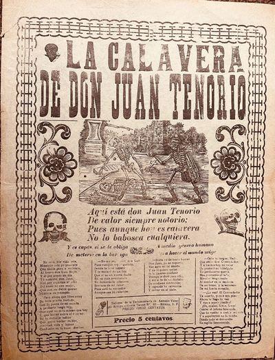 La Calavera de Don Juan Tenorio