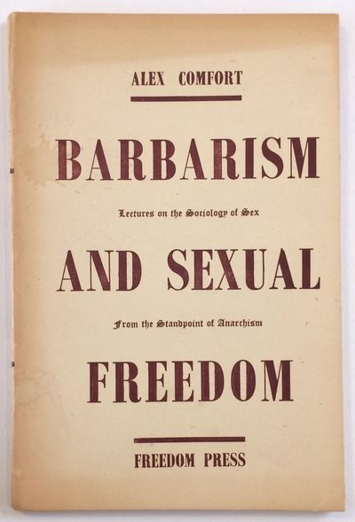 London: Freedom Press, 1948. 68p., paperback with dustjacket, the upper portion of which is toned, w...