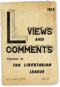 image of Views and Comments no. 25 (Dec 1957)