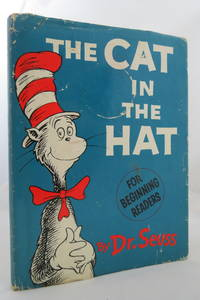 image of THE CAT IN THE HAT  (DJ is protected by a clear, acid-free mylar cover)