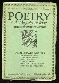 Poetry: A Magazine of Verse November 1924