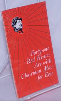 image of Forty-one red hearts are with Chairman Mao for ever