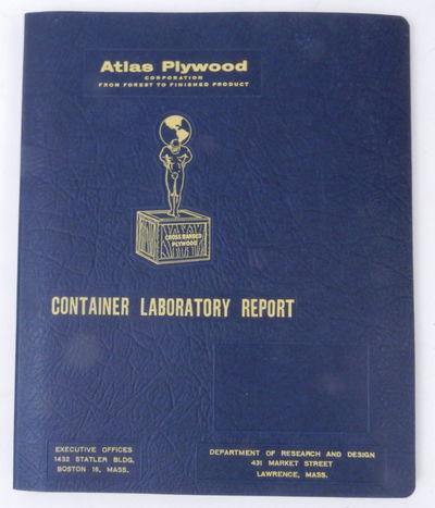 Boston 16, Mass: Atlas Plywood Corporation, 1956. Boards. Near Fine. 9 1/2 x 11 3/8 inches (dimensio...