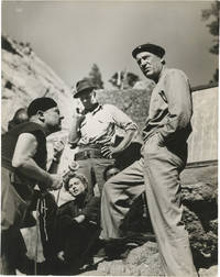 For Whom the Bell Tolls (Collection of five original photographs taken on the set of the 1943 film)