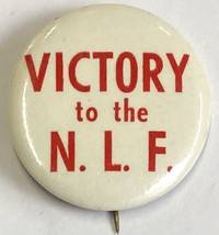 image of Victory to the NLF [pinback button]