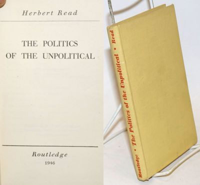 London: Routledge, 1946. Hardcover. vii, 160p., boards slightly soiled, previous owner's name on ffe...