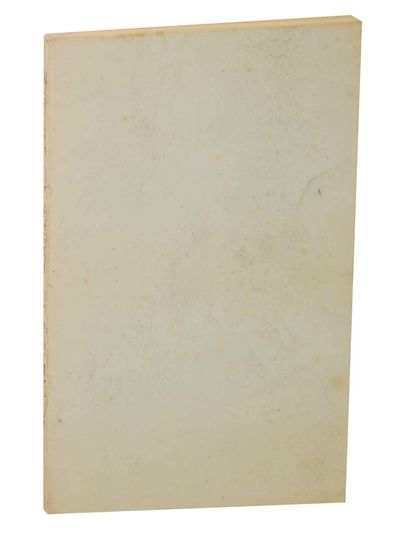 London: Chatto & Windus with The Hogarth Press, 1959. First edition. Softcover. 68 pages. Uncorrecte...