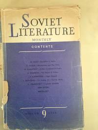 Soviet Literature Monthly 1948 Nos 9, 11 and 12.