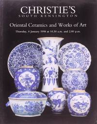 image of Christie's Oriental Ceramics and Works of Art (8 January 1998)