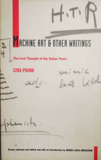 image of Machine Art_Other Writings; The Lost Thought of the Italian Years