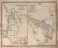 Western Australia Containing the Settlements of Swan River and King George's Sound. Van-Diemen Island.; 1844 SDUK map of Western Australia and Tasmania post the Black War