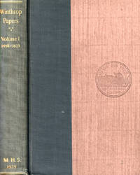 Winthrop Papers Volume I 1498-1628