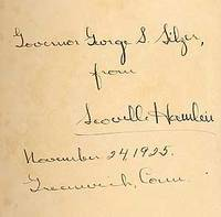 Philadelphia: Dorrance and Company, 1925. Hardcover. Fine. First edition. Light foxing to the foredg...