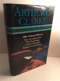 image of ARTHUR C CLARKE: 2001: A SPACE ODYSSEY, THE CITY AND THE STARS, THE DEEP  RANGE, A FALL OF MOONDUST, RENDEZVOUS WITH RAMA.