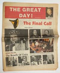 image of The Final Call. Vol. 4 no. 1