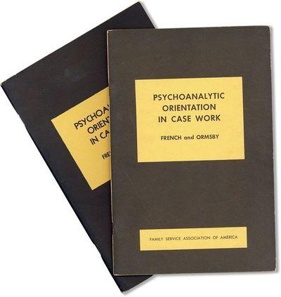 New York: Family Service Association of America, . Fourth (1952) Printing. Paperback. Octavo (23cm.)...