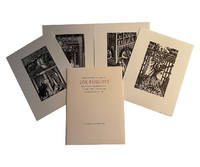 Four Wood Engravings made by Eric Ravilious: in 1933 for the Golden Hours Press' Famous Tragedy of the Rich Jew of Malta