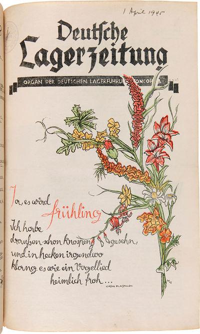 Concordia, Ks.: , 1945. Two volumes. Vol. 1: Nos. 34-35 (1944), 2. Jhrg. Nos. 1-3, 6, 8-13 (1945); V...