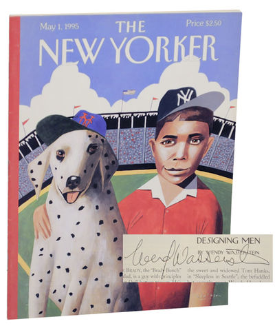 New York: The New Yorker, 1995. First edition. Softcover. Features Wasserstein's short piece