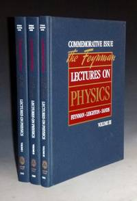 The Feynman Lectures of Physics (special Commemorative issue)