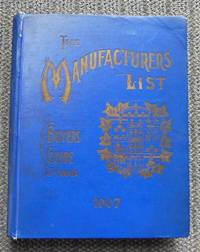 image of THE MANUFACTURERS' LIST BUYERS' GUIDE OF CANADA.  CANADIAN INDUSTRIAL BLUE BOOK.