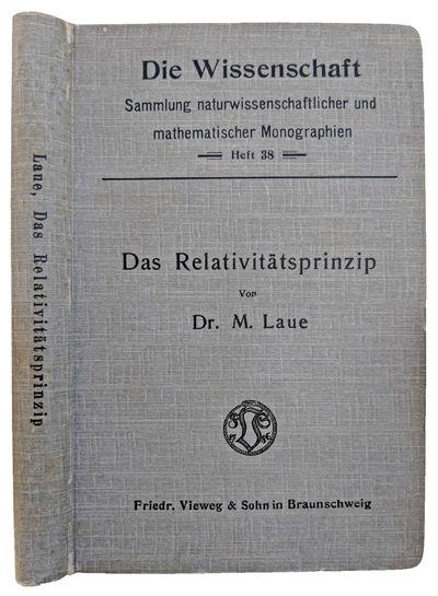 Braunschweig:: Friedrich Vieweg & Sohn, 1911., 1911. Series: Die Wissenschaft (Braunschweig, Germany...