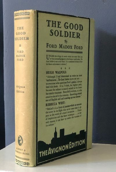 The First Boni edition. A fine book in a near fine dust jacket with some tanning to the spine panel ...