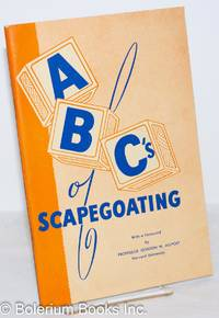 image of ABC's of scapegoating With a foreword by Professor Gordon W. Allport