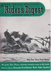 image of The New Haven Railroad Rider's Digest December 1942