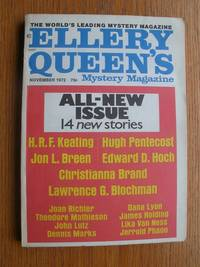 image of Ellery Queen's Mystery Magazine November 1972