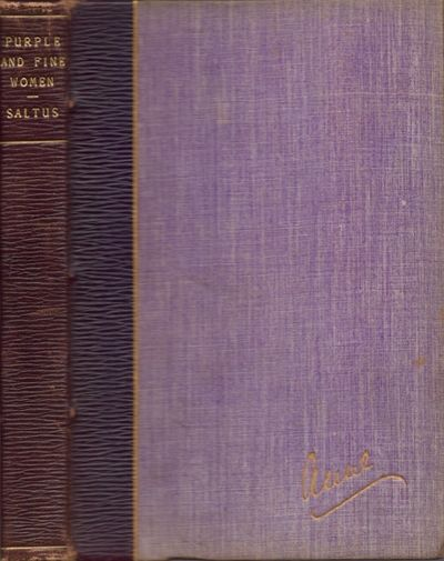 New York: The Ainslee Publishing Company, 1903. First Edition. Hardcover. Very good. 12mo. , 255 pag...