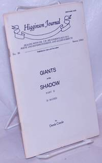 image of Higginson Journal #36: Giants in the Shadow part 2; Reginald Cuthbotham