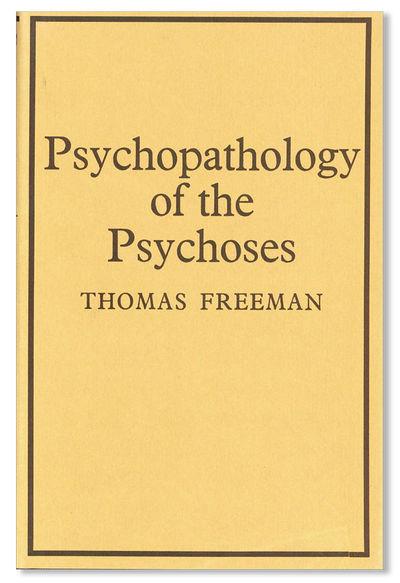 New York: International Universities Press, 1969. First Edition. Hardcover. Octavo. Cloth boards; du...