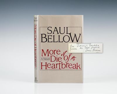 New York: William Morrow and Company, 1987. First edition of the author's tenth novel. Octavo, origi...