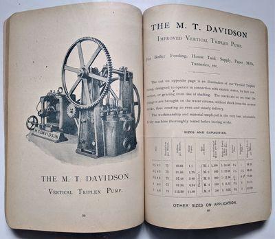 Brooklyn, N. Y.: M. T. Davidson, 1897. (Trade Catalogue: Pumps) M. T. Davidson. Improved Steam Pumps...