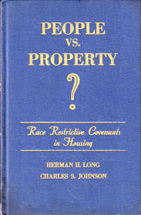 People vs. Property: Race Restrictive Covenants in Housing