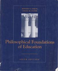 image of Philosophical Foundations of Education