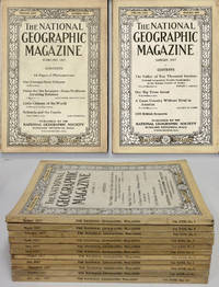 THE NATIONAL GEOGRAPHIC MAGAZINE ( 12 ISSUES,1917)