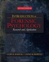 image of Introduction to Forensic Psychology: Research and Application