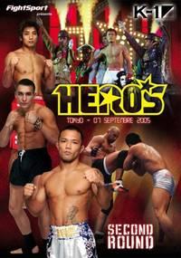 K-1-Heros Secound Round tokyo