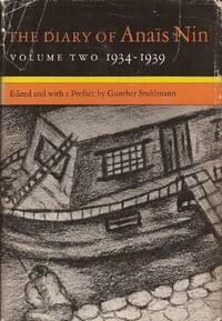 image of The Diary of Anais Nin, Volume Two 1934-1939