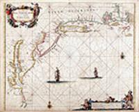 Pas caerte van Nieu Nederlandt en de Engelsche Virginies van Cabo Cod tot Cabo Canrick