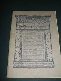 The Theosophic Messenger for November 1911