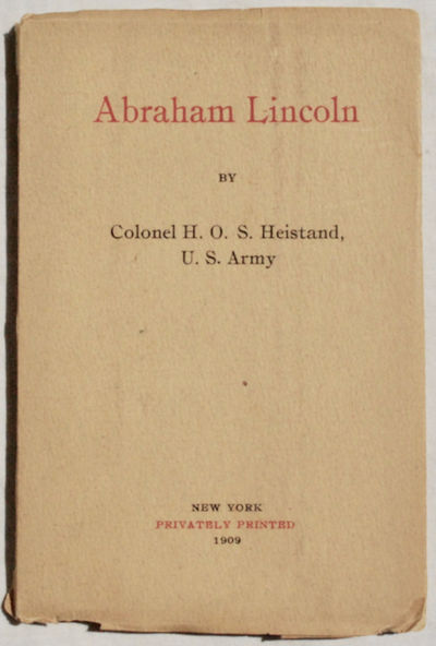 New York: Privately Printed, 1909. First Edition. Paperback. Good. LIMITED EDITION of 150 copies. 12...