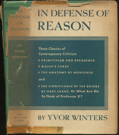 Abaa In Defense Of Reason Primitivism And Decadence A Study Of