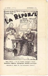 La Response Revue Mensuelle, No. 321, Septembre 1934  [The Response Monthly] by  Urbain  Chamoine / Milly - First Edition - 1934 - from Monroe Bridge Books, SNEAB Member (SKU: 006013)